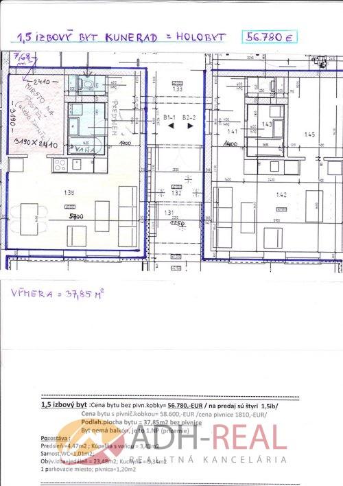 1 5 izbovy byt kunerad 2